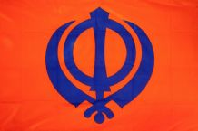 SIKH - HAND WAVING FLAG (MEDIUM)